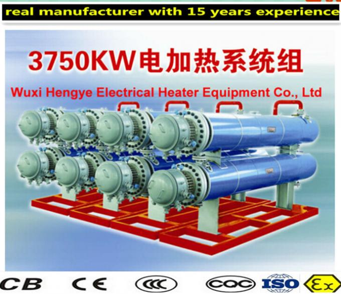 Tube Structure Air Duct Electric Heater , Energy Saving Electric Heaters