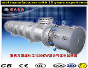 China Flange And Circulation Heater Boiler , Horizontal Explosion Proof Heater factory