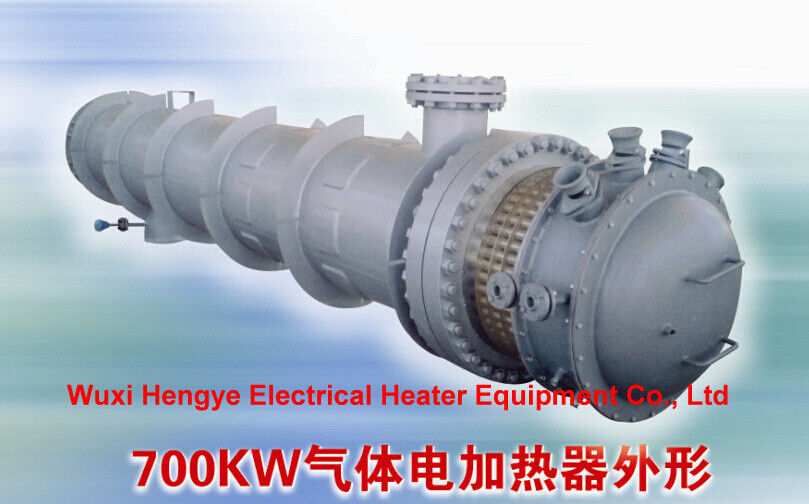 Battery Operated Industrial Electric Heater Tube Heat Exchanger