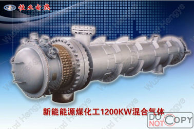 Fuel Oil Explosion Proof Electric Heater Fluid Type Tube Heat Exchanger Structure
