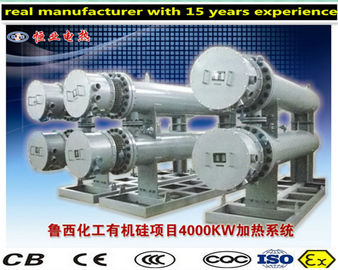 China Flange Tubular Electric Thermal Oil Heater With Safe And Reliable Structure factory