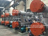 Horizontal Structure Thermal Oil Heater , Fluid Type Industrial Sized Heaters